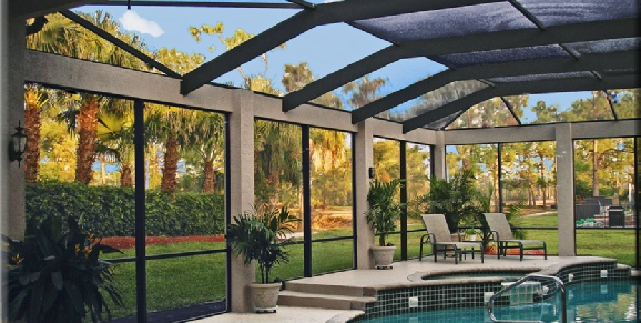 Hurricane Resistant Screen Enclosures - Leading Edge Homes, Inc. - Home Remodeler